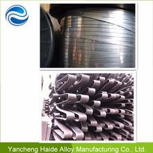 Electric Resistance Alloy nickel chrome heating flat strip cr20ni80