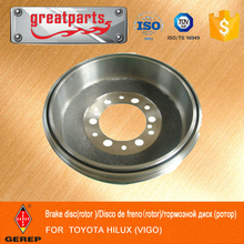 Hot sale brake DRUM FOR TOYOTA SW4 Closed Off-Road,BRAKE SYSTEM