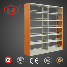 Top quality library furniture stainless steel bookshelf with good price