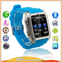 smart watch and phone electronics smart watch Capacitive Touch screen music watch mobile phone
