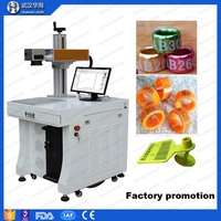 Factory 20w fiber laser printer for ear tag printing machine with CE certificate on sale