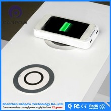 No.1Furnitures embedded wireless surface charger universal Qi Wireless Charger