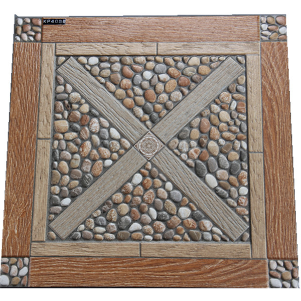 Foshan Guci Rustic Stone Ceramic Tile Outdoor Garden Balcony Floor View