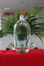 Sıcak satış kaliteli benzersiz tasarım ucuz şarap şişe/cam ruhu şişelerde