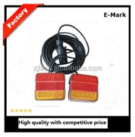 trailer connector auto LED lamp trail light E-MARK E11 JH105-A