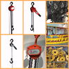 Credit Checked Gold Chinese Supplier 1T Capacity Chain Block Lifting Equipment
