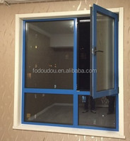 Modern Design Aluminum Tempered Glass Horizontal Sliding Window For Office & NZ Fodoudou Aluminium Sliding Window