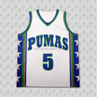 Custom Sublimation Wholesale Latest Basketball Jersey Design