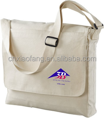 Custom printed promotional cotton canvas tote bag