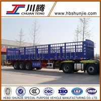 Fence transportation truck trailer for sale