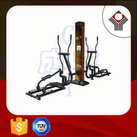 CY615A Adult Plastic Wood Outdoor Fitness Equipment For Outdoor Exercise