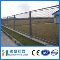 Low price an high quality vinyl coated chain link fence