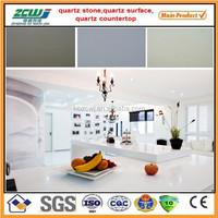 White Sparkle Quartz Stone Countertop