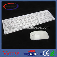 2.4GHz wireless mouse combo ultra-thin combo