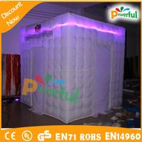 led photo booth enclosure