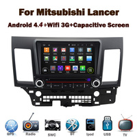 """8"""" Capcitive Screen Android 4.4 Car DVD GPS for Mitsubishi Lancer With Wifi 3G GPS Bluetooth Radio RDS USB IPOD Steering wheel"""
