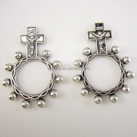 Religious Anello Preghiera Finger Decade Rosary Ring