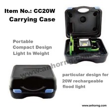 Carrying Case Tool Case for 20W Rechargeable Portable led floodlight housing parts LED work light can fit 2 detachable batteries