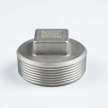 male threaded square plug