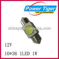 made in china car acessories 12v led car interior liaht reading light