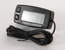Engine Maintenance Alert Resettable Racing Tachometer Digital Timer Motorcycle Pit Bike
