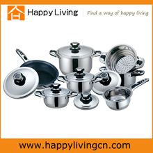 13 PCS stainless steel cookware set,non-stick cookware set