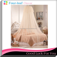 Hanging round bed nets /The ground round the princess slept in tent / Hang mosquito netting dome bud silk condole top bed nets