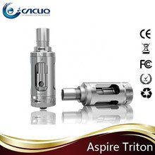 Aspire Triton with RBA Top fill tank Japanese organic cotton fit sigelei 75w/subox mini