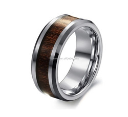 Good quality tungsten wood rings wholesale cost