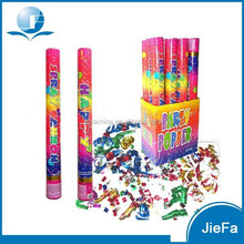 Hot Sales High Quality Factory Price Bottle Shape Confetti Party Poppers