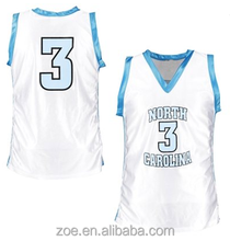 2015 Professional custom cheap Full Sublimation basketball jersey/basketball uniform design