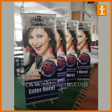 2015 Trade show high quality beauty roll up banner