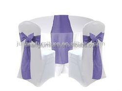 White cheap lycra banquet wedding chair cover
