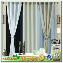 11 years supplier Manufacturer of Blackout curtains and curtain fabrics