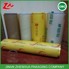 high quality hot film food packaging fresh keeping plastic film pvc food grade cling film