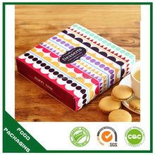 Special new arrival dog biscuits packaging round box