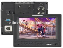 """Olink 7"""" HD/3G/SD SDI field Monitor with HDMI, component and composite inputs (Olink FM779/S)"""
