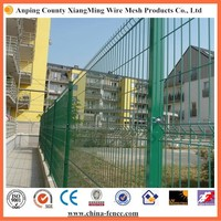 Railway wire mesh fence