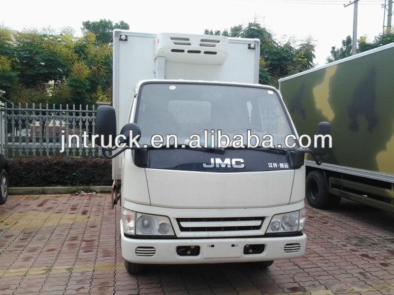 Gıda taşınması jmc kamyon soğutma/araç