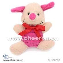 Pink Plush Pig