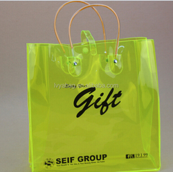 Plastic bag manufacturer, Recycled plastic shopping bag printing with handle plastic bag
