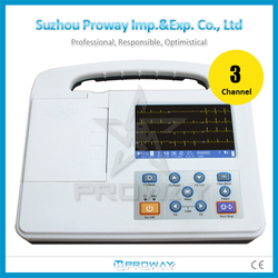 Digital 3 channel 12leads ECG Machine ECG-R2303G Portable ECG/EKG Price