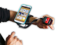 2D Wearable ring/finger Barcode Scanner,wearable data terminal, handfree data capture for logistic & warehouse