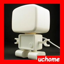 UCHOME Cute Electric Robot Night Lamp for Kids