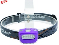 FLHB6028 3xAAA 5x White plastic Led Head Lamp