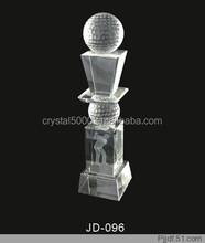 Cheap crystal glass trophy award