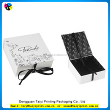 Most Popular Supplier in Dongguan flat folding gift box&birthday gift box&white kraft paper