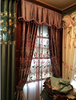 2015 new design curtain,embroidered curtains velvet curtains fabric