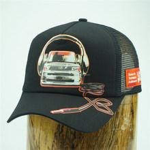 2015 new design car printing trucker mesh cap dongguan factory