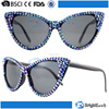 2015 Newest product best selling colorful fake diamond CE&FDA certificate promotion party glasses